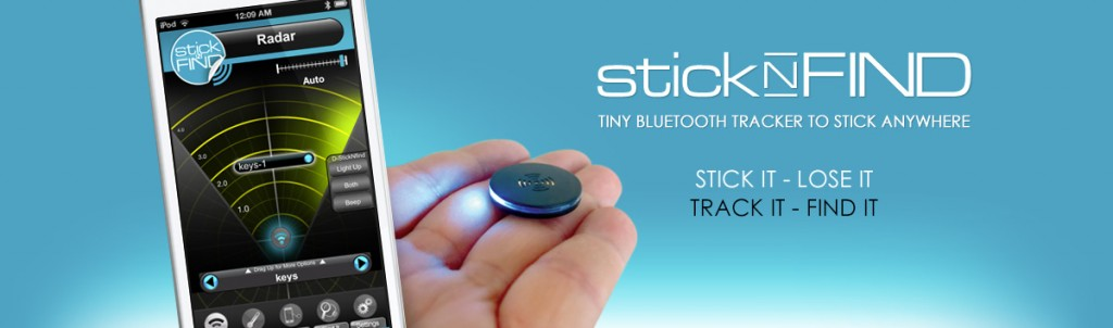 stick-n-find trackers