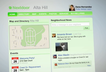 nextdoor private social network